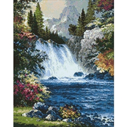 D'Art Diamond Embroidery - Waterfall