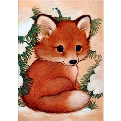 D'Art Diamond Embroidery - Fox Pup