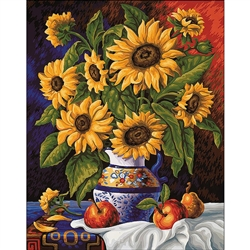 D'Art Diamond Embroidery - Sunflowers' Bunch
