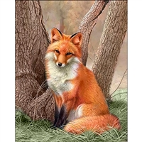 D'Art Diamond Embroidery - Fox