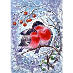D'Art Diamond Embroidery - Bullfinches