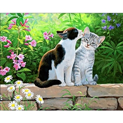 D'Art Diamond Embroidery - Cat Morning