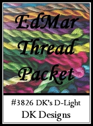 DK's D-Light - EdMar Thread Packet #3826