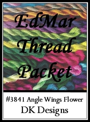 Angel Wings Flower - EdMar Thread Packet #3841