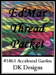 Accidental Garden - EdMar Thread Packet #3863