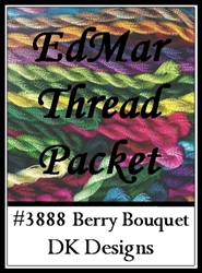 Berry Bouquet - EdMar Thread Packet #3888