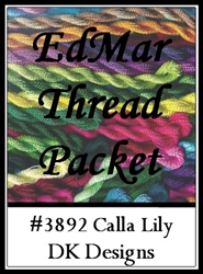 Calla Lily - EdMar Thread Packet #3892