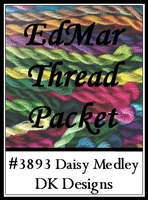 Daisy Medley - EdMar Thread Packet #3893