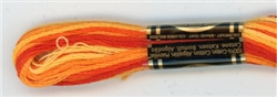 DMC Floss - Color 51, Variegated Burnt Orange