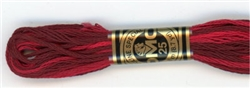 DMC Floss - Color 115, Variegated Garnet
