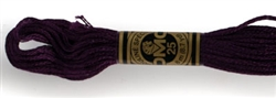 DMC Floss - Color 154, Very Dark Grape