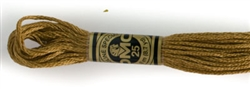 DMC Floss - Color 167, Very Dark Yellow Beige