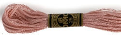 DMC Floss - Color 224, Very Light Shell Pink