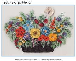 Flowers & Ferns - Edmar kit #1030
