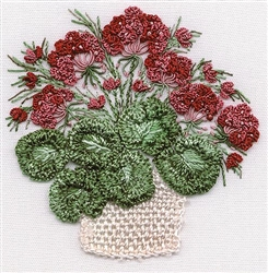 Geranium Basket - Edmar kit #1421