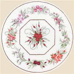 Nine Flower Octagon - EdMar print #1816