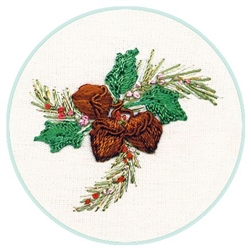 Christmas Acorn - EdMar kit #2053