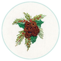 Christmas Pine Cone - EdMar kit #2054