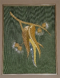 Alison Cole Embroidery -Eucalypt Spray