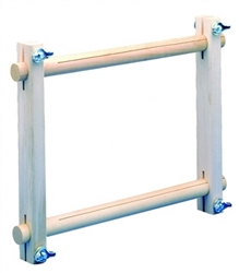 "Frank A Edmunds Split-Rail Scroll Frame 8.5"" x 18"""