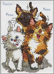 Janlynn Counted Cross Stitch, Cattails Of Duckport