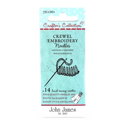 John James Crafters Collection Crewel Embroidery Assortment