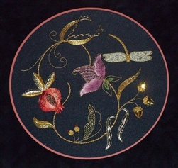 Alison Cole Embroidery -Jacobean Brilliance