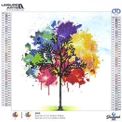 Diamond Art - Rainbow Tree