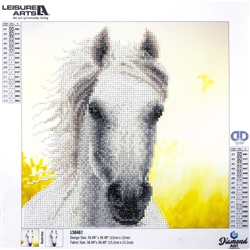 Diamond Art - White Horse