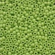 Mill Hill Crayon Seed Beads - Crayon Yellow Green
