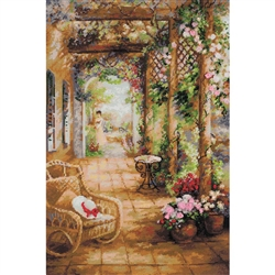 RIOLIS Counted Cross Stitch Kit, A Secret Romance
