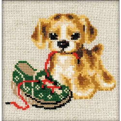 RIOLIS Counted Cross Stitch Kit, Naughty Child