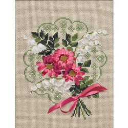 RIOLIS Counted Cross Stitch Kit, Bouquet Of Love