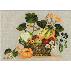 RIOLIS Counted Cross Stitch Kit, Fruits Of Autumn