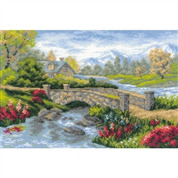 RIOLIS Counted Cross Stitch Kit, Summer View