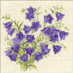RIOLIS Counted Cross Stitch Kit, Bellflower