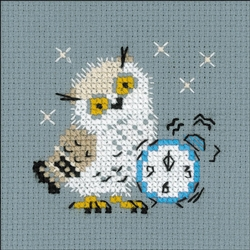 RIOLIS Counted Cross Stitch Kit, Alarm Clock