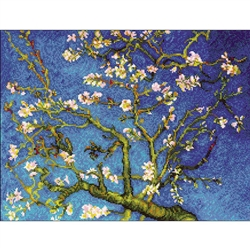 RIOLIS Counted Cross Stitch Kit, Almond Blossom Painting