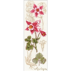 RIOLIS Counted Cross Stitch Kit, Aquilegia