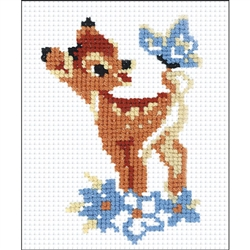 RIOLIS Counted Cross Stitch Kit, Bambi