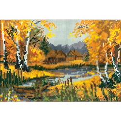 RIOLIS Counted Cross Stitch Kit, Autumn Charm
