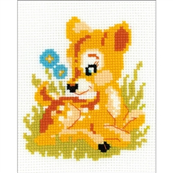 RIOLIS Counted Cross Stitch Kit, Baby Deer