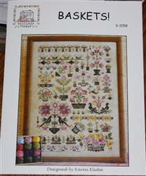 Rosewood Manor - S-1058 Baskets!