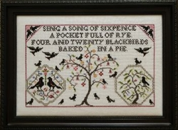 Rosewood Manor - S-1064 Four & Twenty Black Birds