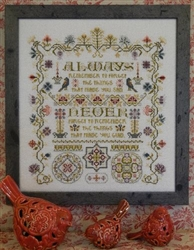 Rosewood Manor - S-1177  Always Remember Sampler