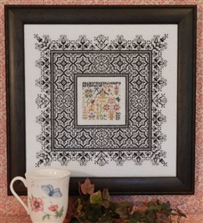 Rosewood Manor - S-1246  Black Lace Sampler