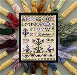 Cross Stitch Kit - Heritage Silk Thread Collection
