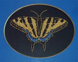 Alison Cole Embroidery -Tiger Swallowtail Butterfly