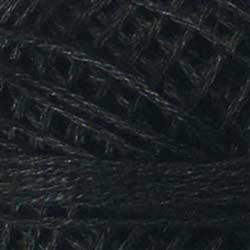 Valdani 3-Strand Floss Color #8113 - Black_Dark