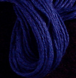 Valdani 6-Ply Floss Color #105 - Luminous Rich Navy